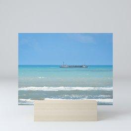 Rusty Ship Mini Art Print