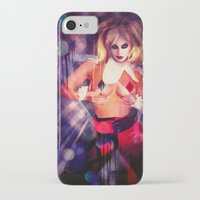 harley quinn iPhone & iPod Cases featuring Harley Quinn by Sirenphotos
