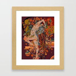 Sweet Fever Framed Art Print
