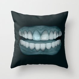 Blue Tooth 2 Throw Pillow