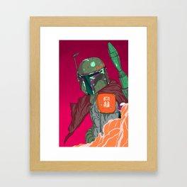 Boba Fett Framed Art Print