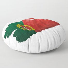 A piece of the Portuguese flag Floor Pillow