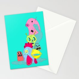 chanchito & cia Stationery Cards