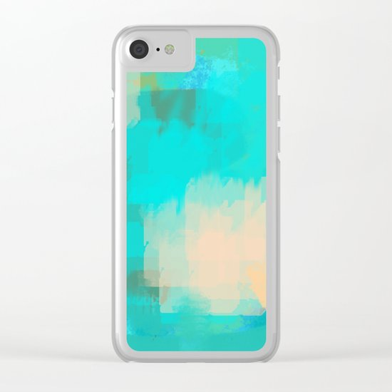 2 sided world Clear iPhone Case
