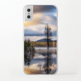 It Does Exist a beautiful dreamy photograph of Dry Lake Clear iPhone Case