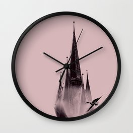 Head In The Clouds - Pnk Wall Clock