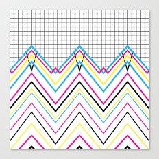 80's Chevy Grid Canvas Print