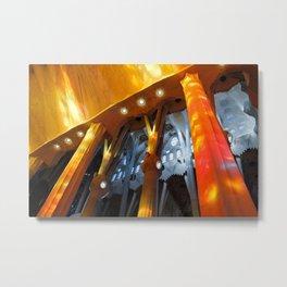 Sagrada Familia 2 Metal Print