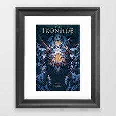Ole Ironside Framed Art Print