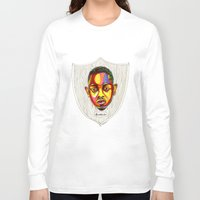 "kendrick lamar Long Sleeve T-shirts featuring Kendrick Lamar Artwork - ""Rigamortis"" by Rob Gibsun"