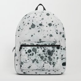 Green Ink Drops Backpack