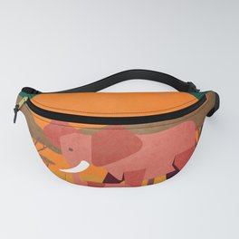 Save the wildlife 4 Fanny Pack