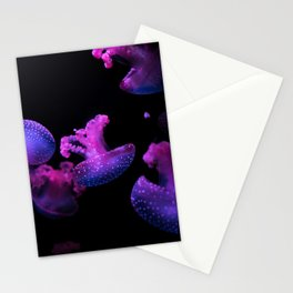 Pink Jelly Fish Stationery Cards