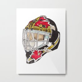 Beaupre - Mask 2 Metal Print