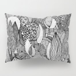 Mysterious Village Pillow Sham