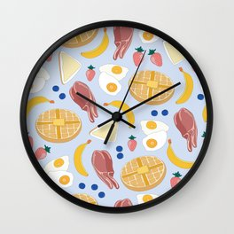 Breakfast Food Wall Clock