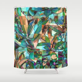 Into the Jungle 01 Shower Curtain