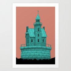 empty lighthouse Art Print