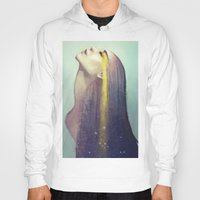 constellation Hoodies featuring Constellation by Anna Dittmann