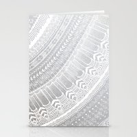 silver Stationery Cards featuring Silver by Rskinner1122