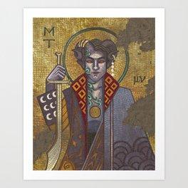 Byzantine Mollymauk Art Print