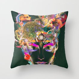 Mahalaya Throw Pillow