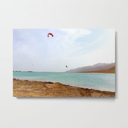 Kite Surf Metal Print
