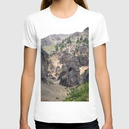 Gold Rush Prospect Hole High Above the Animas River T-shirt