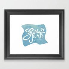 Gin & Tarts Framed Art Print