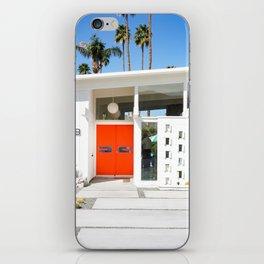 Mid Century Orange iPhone Skin