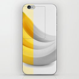 Banana layer iPhone Skin