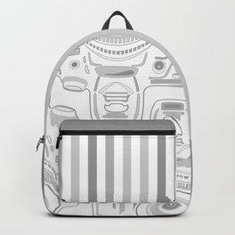 Grey Cameras Backpack