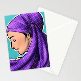 Purple Wrap Stationery Cards