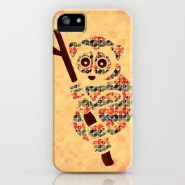 The Pattern Loris iPhone Case
