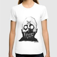 fear T-shirts featuring Fear by Jonathan Silence