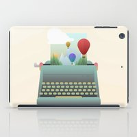 write iPad Cases featuring Write your story by Moremo