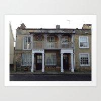 Milestone House  Art Print