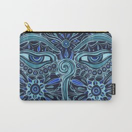 The Eyes of Buddha Carry-All Pouch