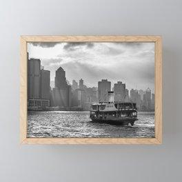 Hong Kong Island Framed Mini Art Print