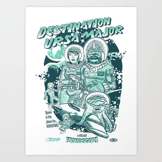 Destination Ursa Major s6 exclusive Art Print