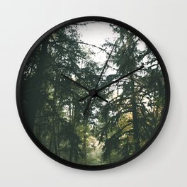 Forest XVII Wall Clock