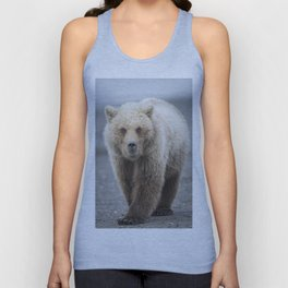 Grizzy Bear One Unisex Tank Top