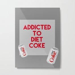 DietCoke Metal Print