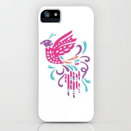 Boho Bird iPhone Case