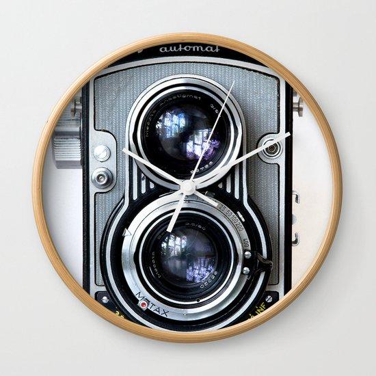 Flexaret Vinatge Camera Wall Clock