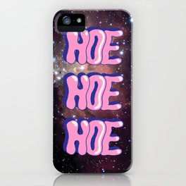 HOE! HOE! HOE! iPhone Case