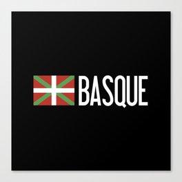 Basque Country: Basque Flag & Basque Canvas Print