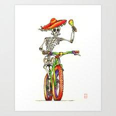 Dead Rider Art Print