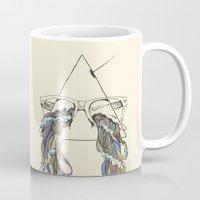 prism Mugs featuring Wayfarer Prism by Huebucket