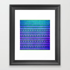 Aztec Night Framed Art Print